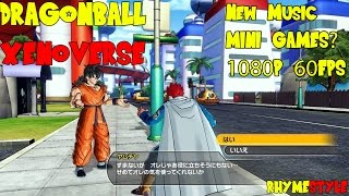 Dragon Ball Xenoverse: New Music, Non-Fighting Missions
