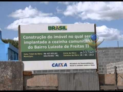 Obras do restaurante comunitário do Luizote seguem paradas