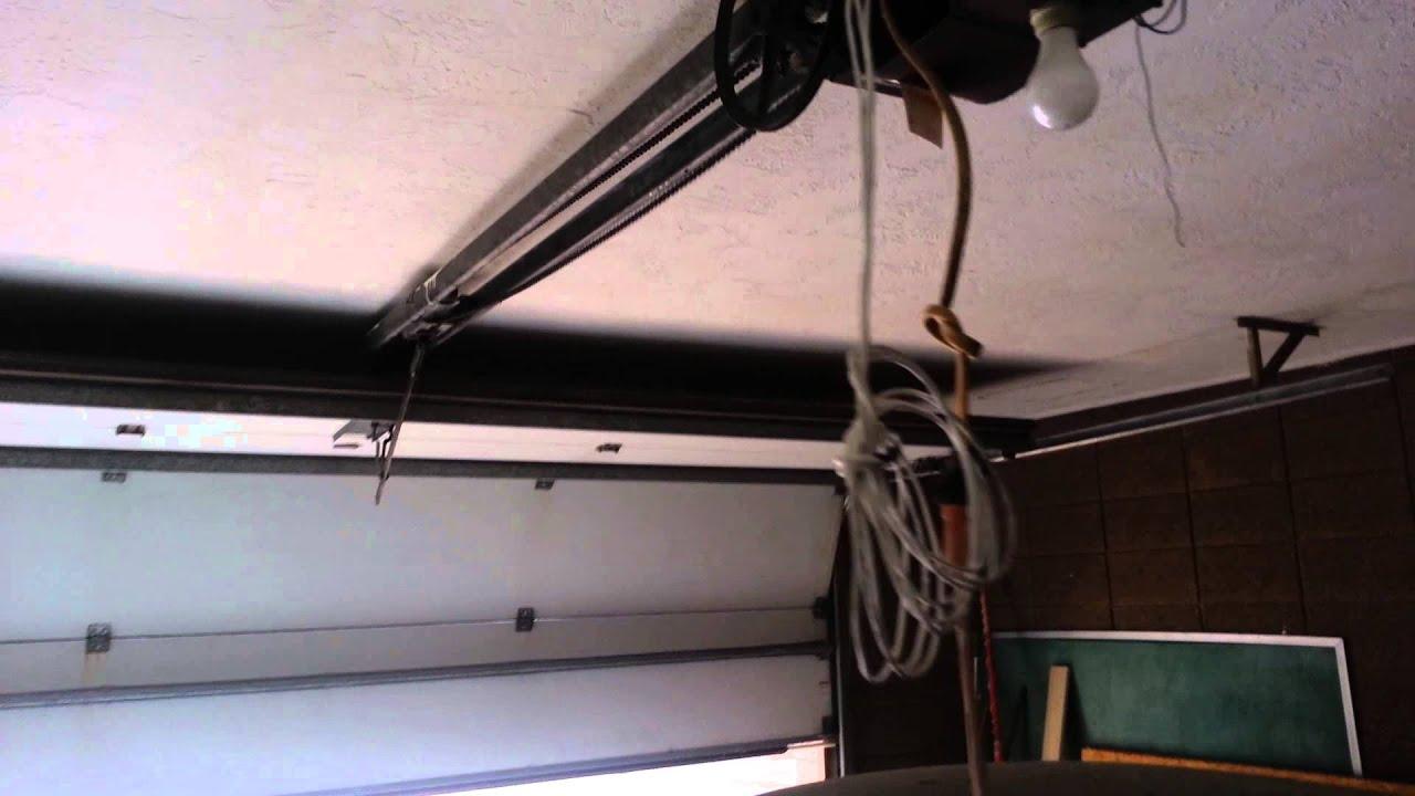 Old garage door opener from the s youtube