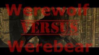 Werewolf Vs. Werebear! Skyrim: Dragonborn DLC Werebear