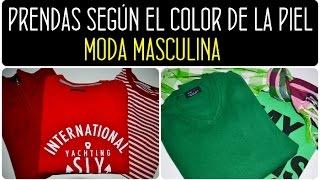 Elige el color de ropa según tono de piel