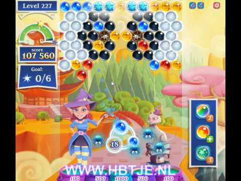 Bubble Witch Saga 2 level 227