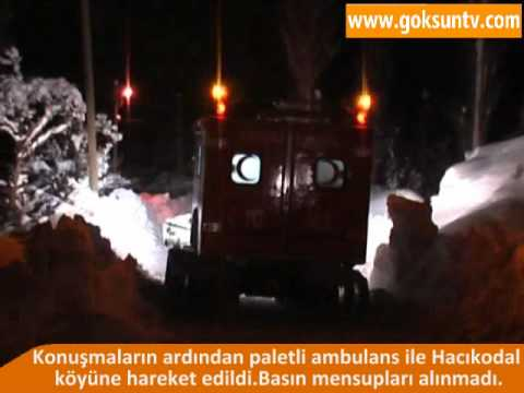 Paletli Ambulans ve İki Hayat