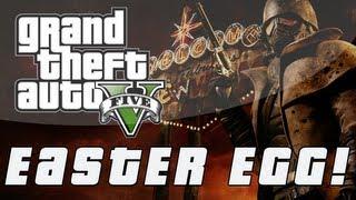 Grand Theft Auto 5 Fallout: New Vegas Easter Egg! (GTA V