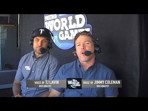 Nitro World Games Best Moments - TJ Lavin & Jimmy Coleman