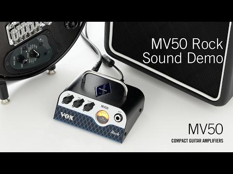 Vox MV50 Rock NuTube Guitar Amplifier Head
