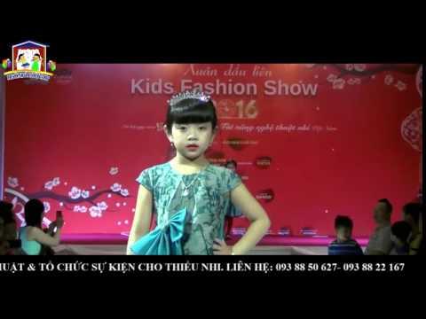 Kids Fashion Show 2016- các Người Mẫu Nhí biểu diễn Thời Trang Dạo Phố