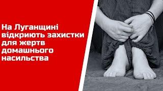 На Луганщині відкриють захистки для жертв домашнього насильства
