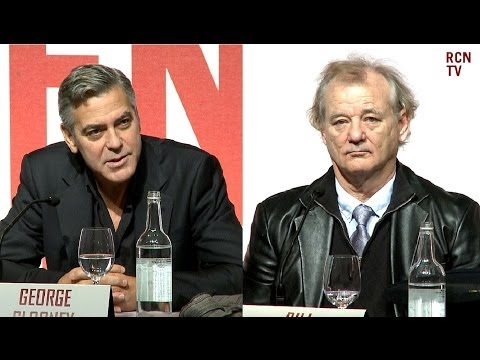 George Clooney & Bill Murray Interview - Elgin Marbles Controversey