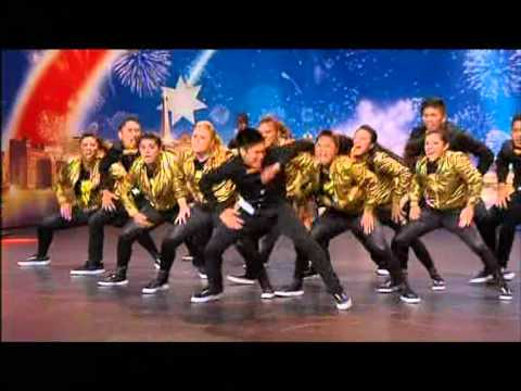 Kookies N Kream - Australia's Got Talent 2012 audition 1 [FULL]