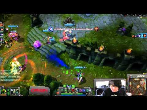 Varus Steals Baron :: Wins Game