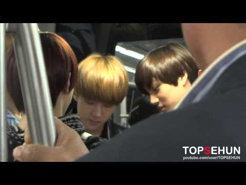 20120921 EXO-K Incheon Airport-1 (going to Jakarta)