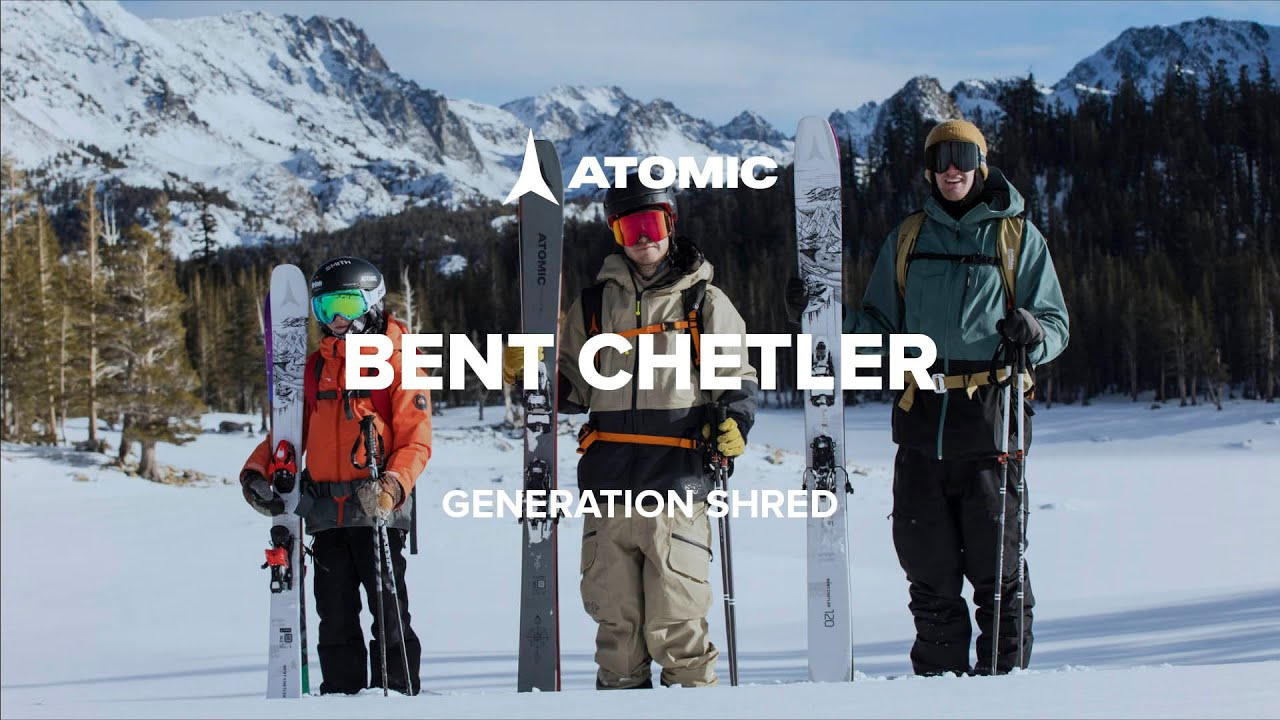 Видео о горных лыжах Atomic Bent Chetler 18/19