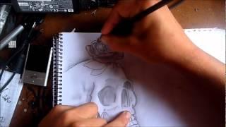 Dibujo A Lapiz Calavera[LxO Tegnic Produccion]