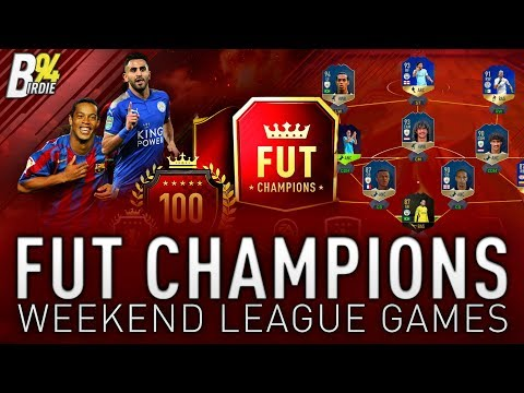 EPIC TOTS PACK PULL - FUT Champions Weekend League Games!!! - FIFA 18 RTG - #108