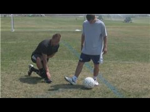 Soccer Skills : Creating Spin or Swerve in Soccer Shots