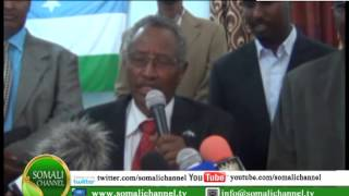 GAROOWE Madaxwaynaha Puntland CABDIrixmaan faroole ayaa Magaalada garoowe kaga qayb galay 