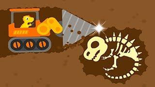 Dinosaur Digger 3 - The Truck Kids Game - Play Fun Dinosaur Digger Game For Kids