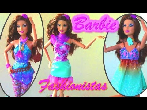 Barbie Fashionistas 3 Fully Poseable Fashion Doll - Barbie Doll Collection