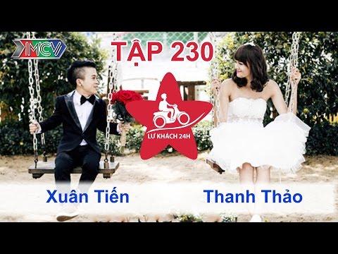 Xuân Tiến vs. Thanh Thảo | LỮ KHÁCH 24H | Tập 230 | 100814