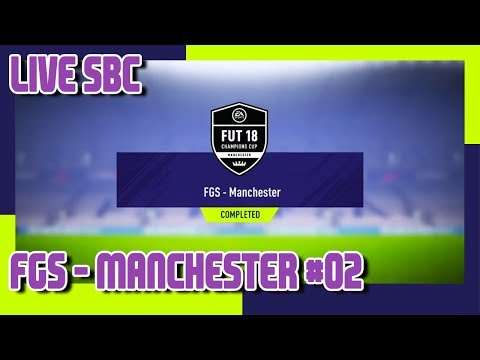 FIFA 18 - FIFA Global Series - FGS - Manchester SBC #2 & Pack Opening, cheap, no loyality