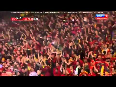 Kevin De Bruyne Goal Penalty - Belgium vs Luxembourg 5-1  Friendly Match  2014 HD