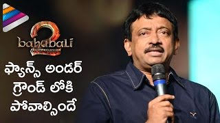 RGV shocking comments on Baahubali 2..