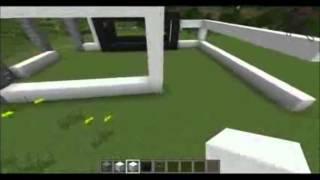 Minecraft Maison Du Futur Tuto N°1