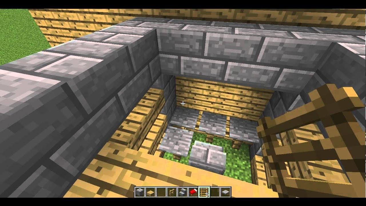 Tuto comment construire un lit mezzanine sur minecraft - Construire lit mezzanine ...