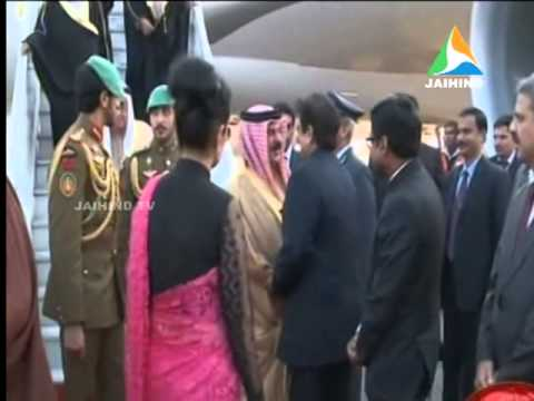 Bahrain king india, dubai , 20.02.2014, Jaihind TV, Morning News