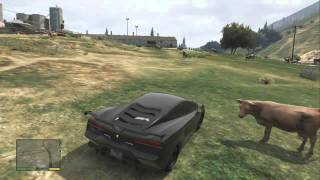 GTA 5 Funny Random Gameplay Moments 4 : In Lamborghini Fast Car!