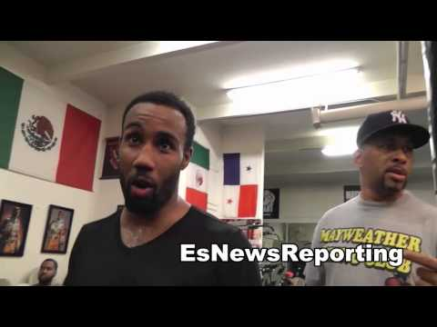 boxing star mickey bey and Dejuan Blake talk TMT Boxing at Mayweather Boxing Club