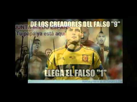 Memes de la eliminación de España en el Mundial de Brasil 2014