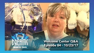 Welcome Center Question & Answer | 10/23/17