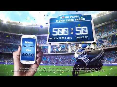 50 cơ hội trúng xe Nouvo SX GP với Pepsi!