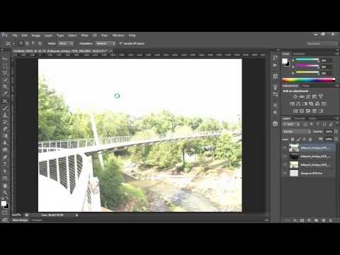 Photoshop CS6 Merge images to HDR Pro
