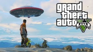 Easter Egg Do Disco Voador (OVNI) No GTA5: UFO, Alien No