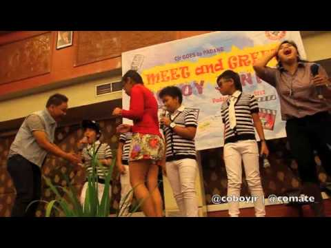 Coboy Junior Special Behind The Stage - Padang Trip