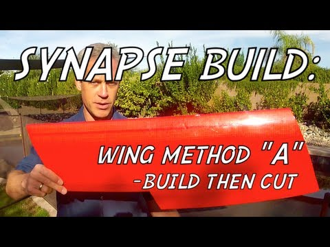SYNAPSE WING BUILD - Method A: Build Then Cut