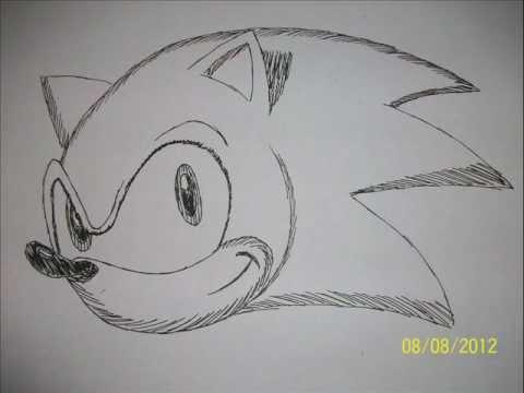how to draw a hedgehog face