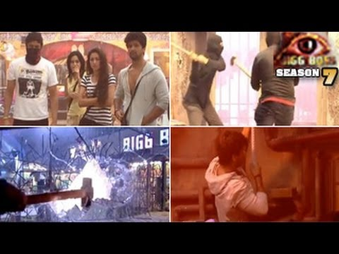 Bigg Boss 7 17th October 2013 Full Episode- Heaven & Hell MERGE, WILDCARD ENTRY