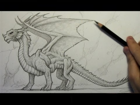 Drawing Time Lapse: Dragon