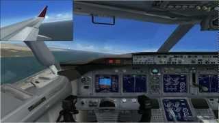 FSX: Vuelo IFR , aterrizaje ILS/ aproximacion ILS