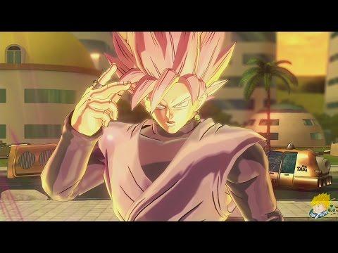 Dragon Ball Xenoverse 2: Goku Black (Super Saiyan Rose) [DLC PACK 3] Gameplay【60FPS 1080P】