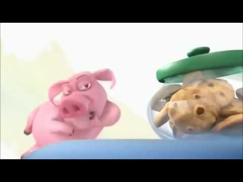 Phim Hoạt Hình cực vui- Chú Heo Con Hậu Đậu Tham Ăn