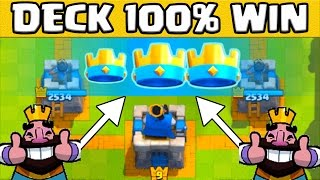 Clash royale 9 combats en ar ne 7 soundmixed for Deck arene 6 miroir