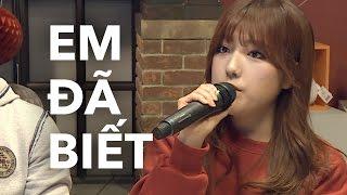 YouTuber Hàn hát Em Đã Biết của Suni Hạ Linh bằng 2 thứ tiếng | KTV V LIVE