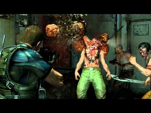 Resident Evil 6 pictures July 2012