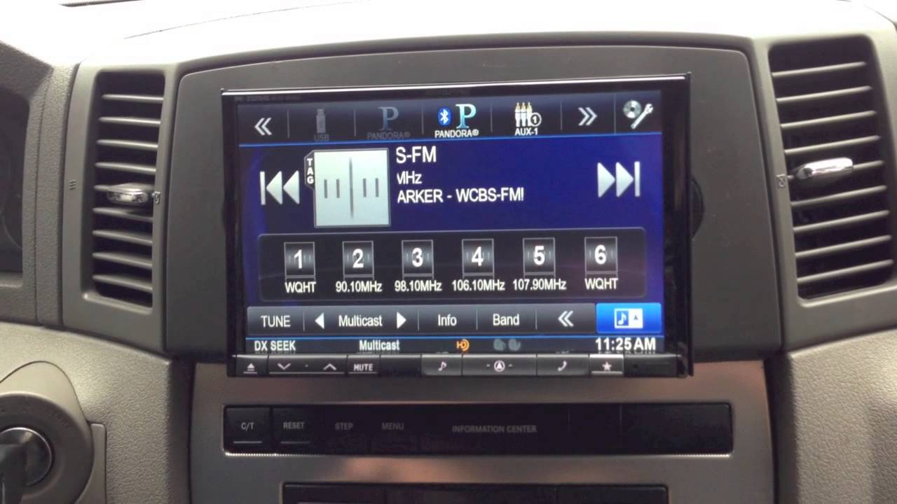 cherokee jeep grand din double radio kit 2006 conversion alpine inch bluetooth ine