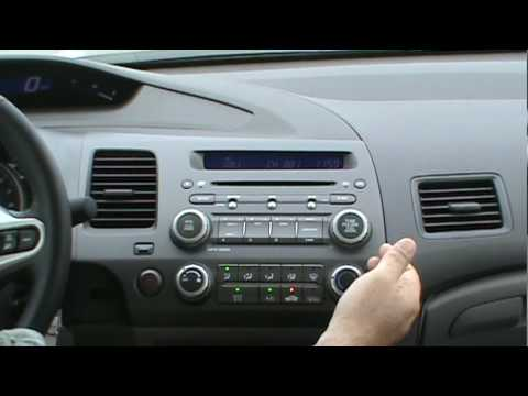 Ipod Amp Aux In A 2010 Honda Civic Mpg Youtube